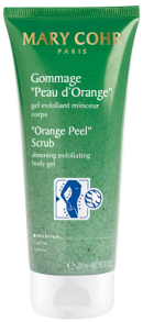 gommage peau d'orange